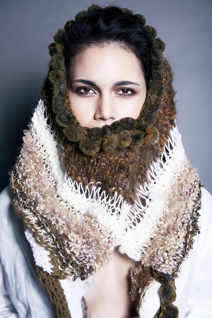 Jessica Gob fashion design by Jonathan Menialec
